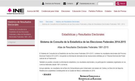 Presenta INE nuevo sistema de consulta