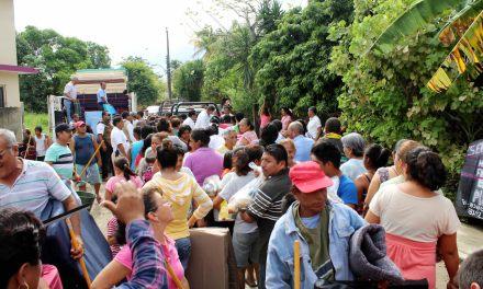 Ayuntamiento de Tuxpan se Solidariza con Población Afectada