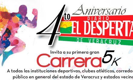 CUARTO ANIVERSARIO CARRERA EL DESPERTAR