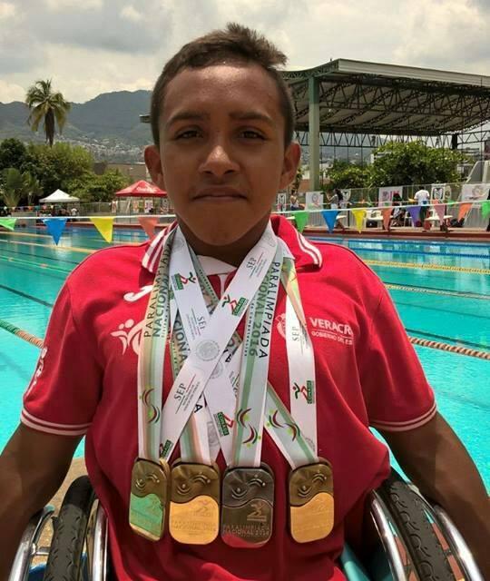 Atletas paralímpicos rumbo a Brasil 2017