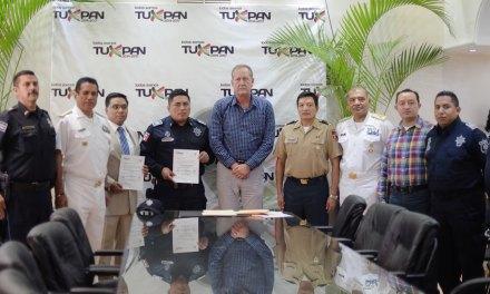 Presentan Nuevos Titulares de Seguridad Pública y Tránsito en Tuxpan