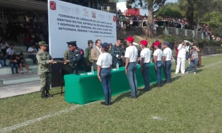 SEMAR Y SEDENA entregan cartillas liberadas a clase 1997, anticipados y remisos