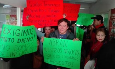 Mediante manifestación solicitan reapertura de bares y cantinas