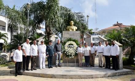 Ceremonia del 211 Aniversario del Natalicio de Benito Juárez García