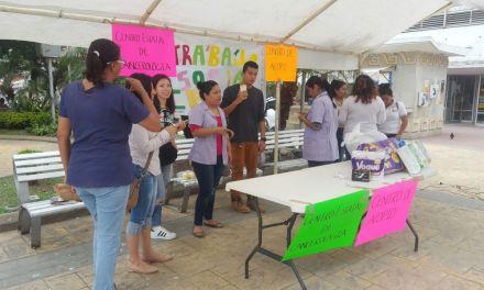 Recolectan víveres para apoyar a pacientes del CECAN