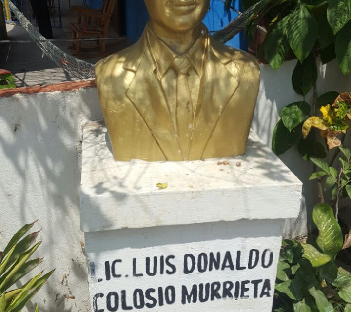 Priistas olvidan aniversario luctuso de Luis Donaldo Colosio Murrieta