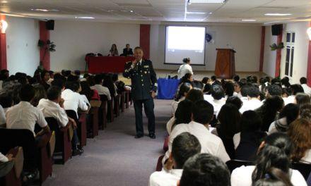 """SEDENA presenta  ponencia """"Panorama de las Fuerzas Armadas Mexicanas y las Actividades que realizan para el desarrollo Nacional"""""""
