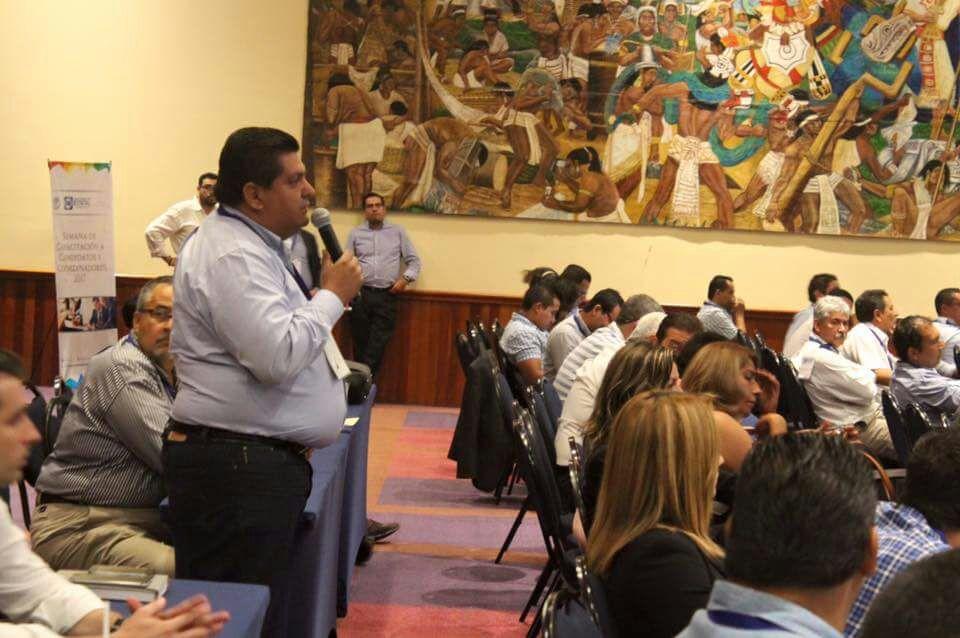 Se capacita Toño Aguilar Mancha para el Proceso Electoral