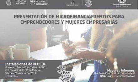 Buscan impulsar a microempresarios