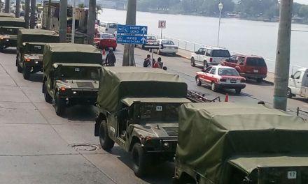 103 Vehículos militares  serán embarcados desde este puerto