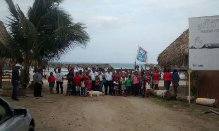 Impulso integral a la zona de playa: Toño Aguilar