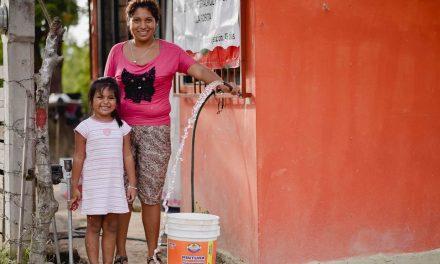 Concreta Ayuntamiento de Tuxpan,  Ampliación de Red de Agua Potable