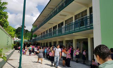 Tras sismo, evaluan daños estructurales en Escuela Primaria