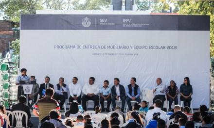 La base de Veracruz, debe ser la educación: Miguel Ángel Yunes Linares
