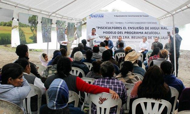 Respaldo a modelo de programa Acuícola 2018