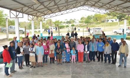 Tamiahua: El progreso llegara a las comunidades con un gobierno sensible y abierto