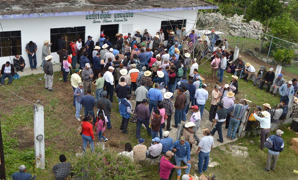 Apoyos a 200 productores del campo tuxpeño