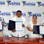 Firma de convenio entre colegios de Arquitectos e Ingenieros con Gobierno Municipal