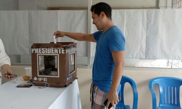 Panistas realizaron votación interna