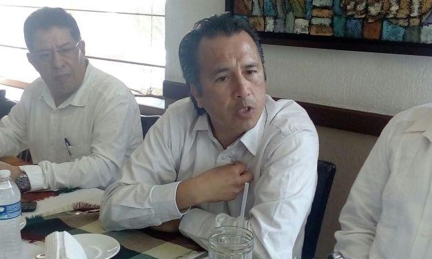 Asegura Cuitlahuac García estar arriba en las encuestas