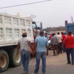 Difícil situación atraviesan camioneros materialistas
