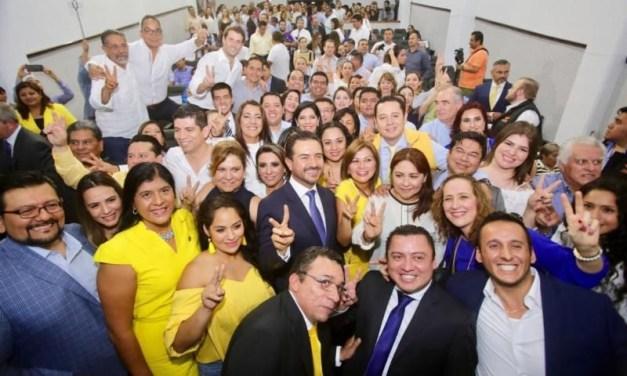 """El cambio, que ya inició, será más grande y más fuerte los próximos 6 años"""": Miguel Ángel Yunes Márquez"""