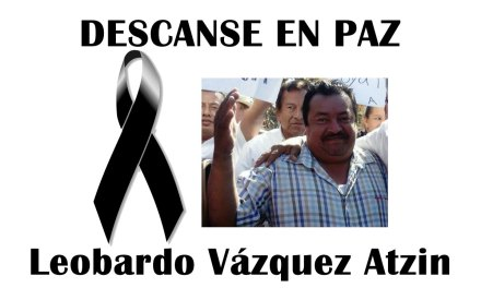 Pronunciamiento de la APITAC sobre el asesinato del periodista Leobardo Vázquez Atzin.