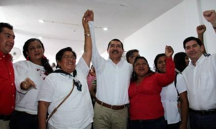 Llevaré a la senda del progreso y del desarrollo  a los municipios del distrito: Pepe Arenas