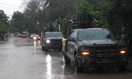 Ejército Mexicano activa en Tuxpan el PLAN DN-III-E