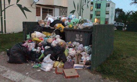 Padecen en Tuxpan, problema de recolección de basura