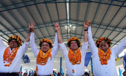 Acude Arturo Esquitín al arranque de campaña de Ricardo Arturo Serna en Álamo