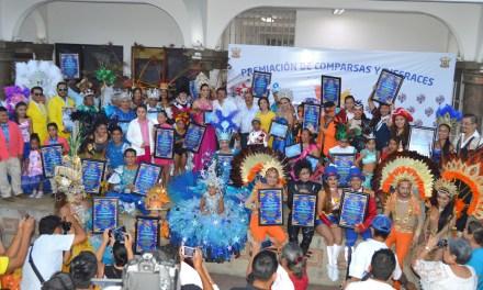 """Premian a ganadores de comparsas y disfraces del Carnaval Tuxpan 2018 """"La fiesta que nos une"""""""