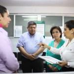 Delegada de SRE en Veracruz supervisa oficina municipal