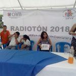 Realizan Radiotón a favor del CAM 57