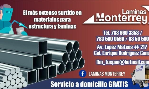 Láminas Monterrey