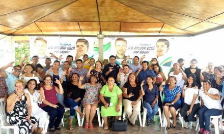 Hacemos campaña de propuestas: Clemente Campos