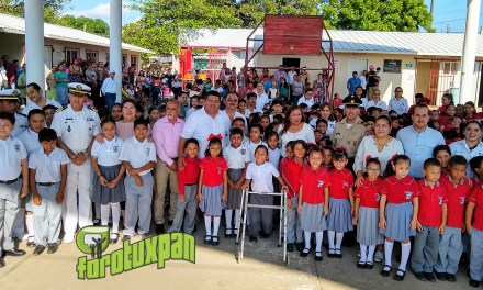 La educación no la dejaremos de lado: Toño Aguilar