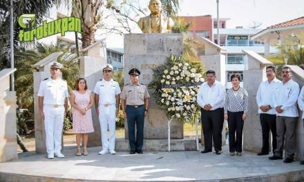 Conmemoran Aniversario Luctuoso de Benito Juárez