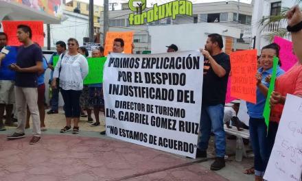 Manifestación por la Destitución de Gabriel Gómez de la Dirección de Turismo