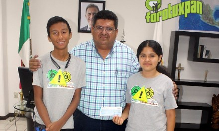 Niños reciben apoyo del gobierno municipal para participar en competencia internacional de robótica en Colombia