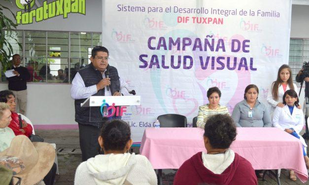 INICIA DIF MUNICIPAL CAMPAÑA DE SALUD VISUAL ESPECIALIZADA