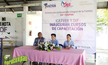 Dan Inicio los Cursos de Capacitación Para el Trabajo en Tuxpan