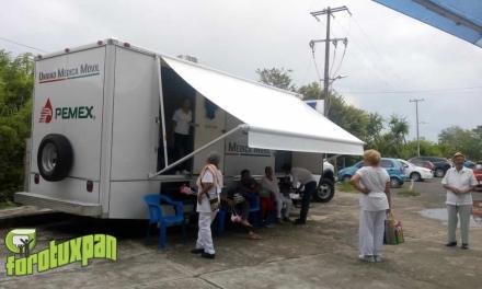 Caravana de salud en colonias y comunidades por DIF Tuxpan