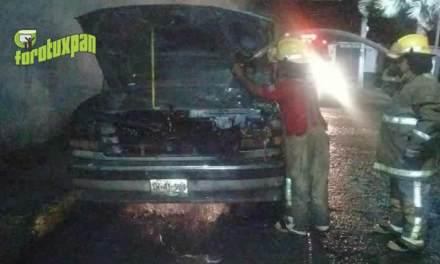 Se incendia camioneta en Arteaga