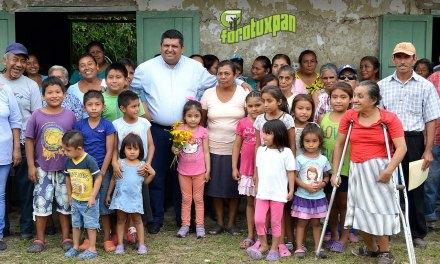 Toño Aguilar invita a la ciudadanía al primer informe de gobierno