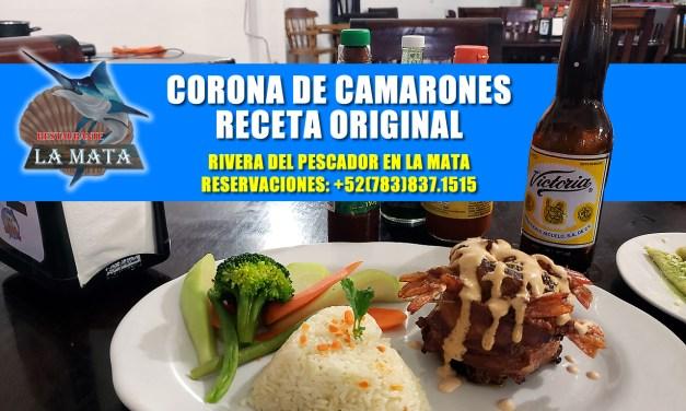 Corona de Camarón – Receta Original – Restaurante La Mata