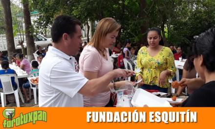 FUNDACIÓN ESQUITIN Invita desayuno a más de 130 mujeres