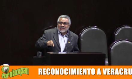 Reconocimiento al Gobierno de Veracruz Por Parte Del Diputado Federal de MORENA