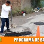 Braulio García: El Bacheo va a tiempo