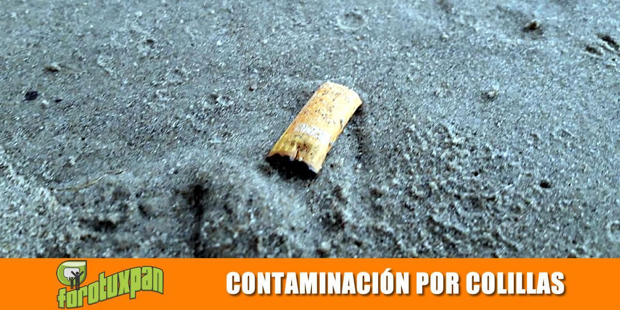 Contaminación por Colillas de Cigarro